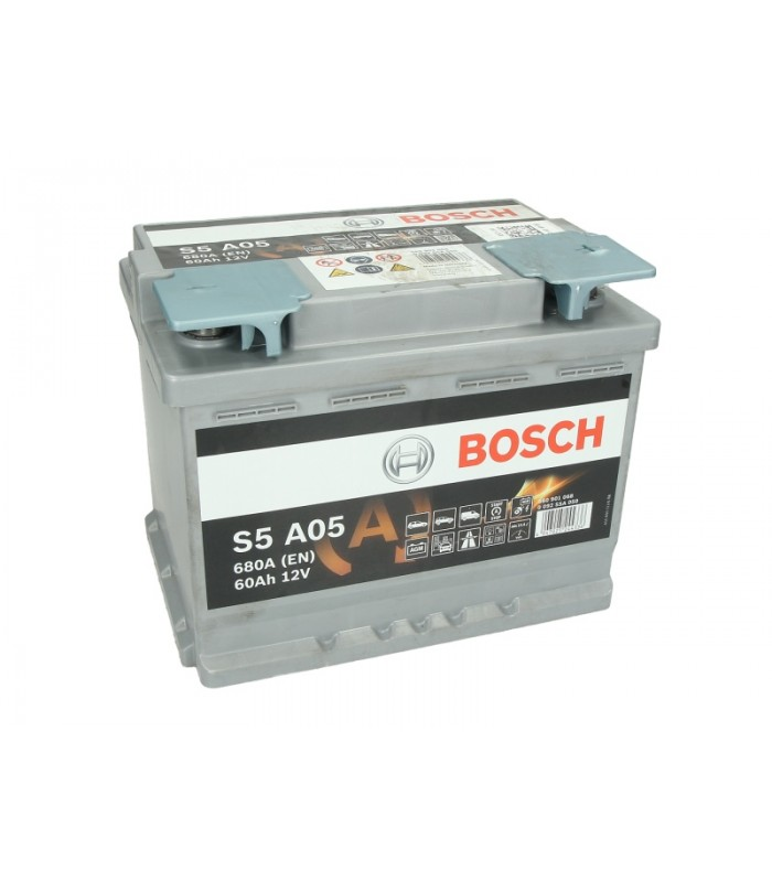 Аккумулятор Bosch 60Ah/680A AGM 0 092 S5A 050