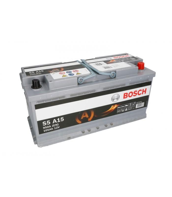 Аккумулятор Bosch 105Ah/950A AGM 0 092 S5A 150