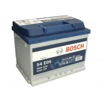Аккумулятор Bosch 60Ah/560A EFB 0 092 S4E 050