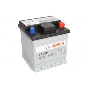 Аккумулятор Bosch 40Ah/340A S3 0 092 S30 000