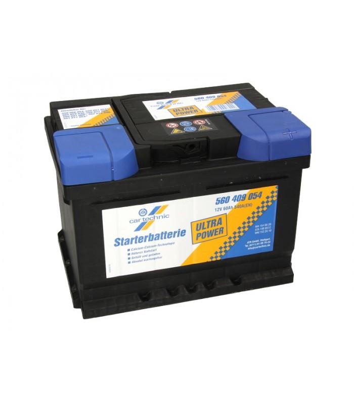 Аккумулятор Cartechnic 60Ah/540A ULTRA POWER CART560409054