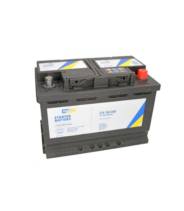 Аккумулятор Cartechnic 74Ah/680A ULTRA POWER CART574104068
