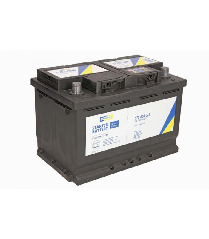 Аккумулятор Cartechnic 77Ah/780A ULTRA POWER CART577400078