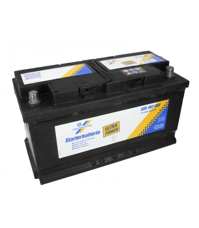 Аккумулятор Cartechnic 95Ah/800A ULTRA POWER CART595402080