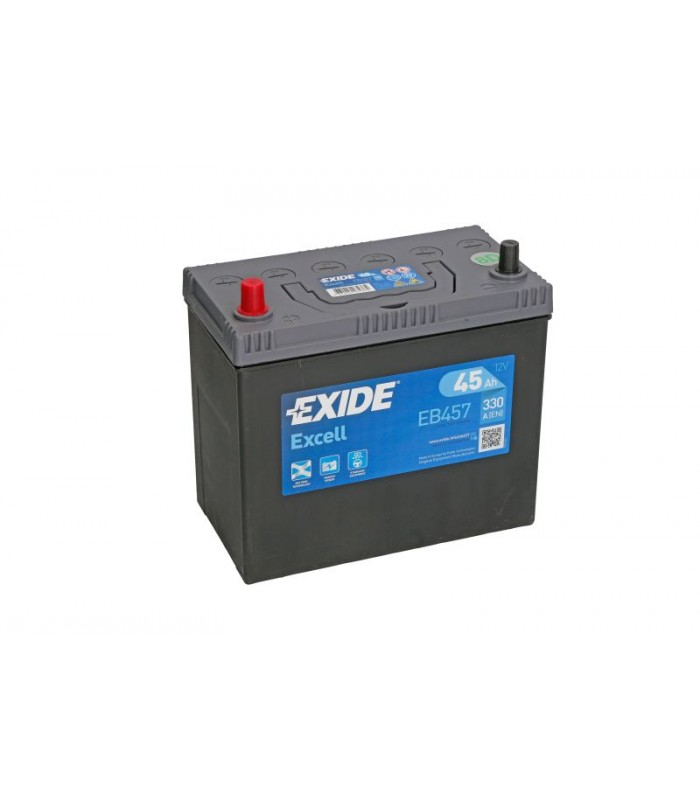 Аккумулятор Exide 45Ah/330A EXCELL EB457