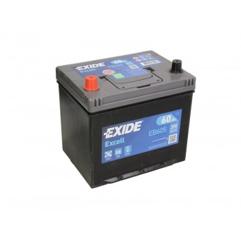 Аккумулятор Exide 60Ah/390A EXCELL EB605