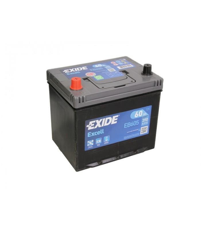 Аккумулятор Exide 60Ah/390A EXCELL EB605