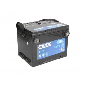 Аккумулятор Exide 60Ah/640A EXCELL EB608