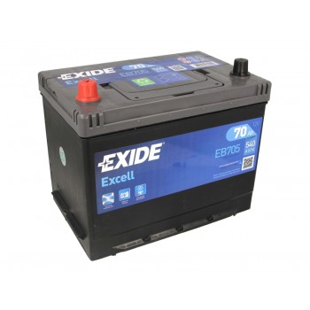 Аккумулятор Exide 70Ah/540A EXCELL EB705