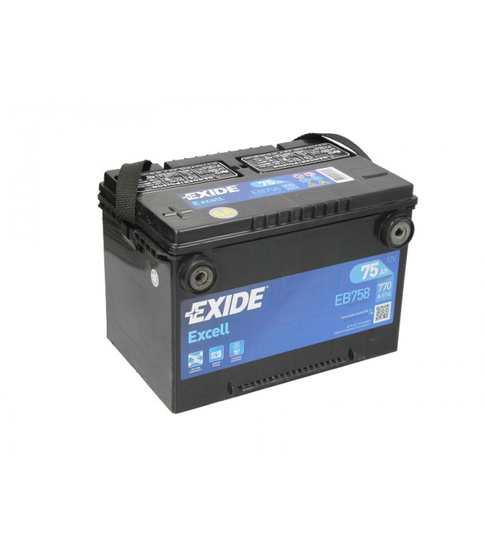 Аккумулятор Exide 75Ah/770A EXCELL EB758