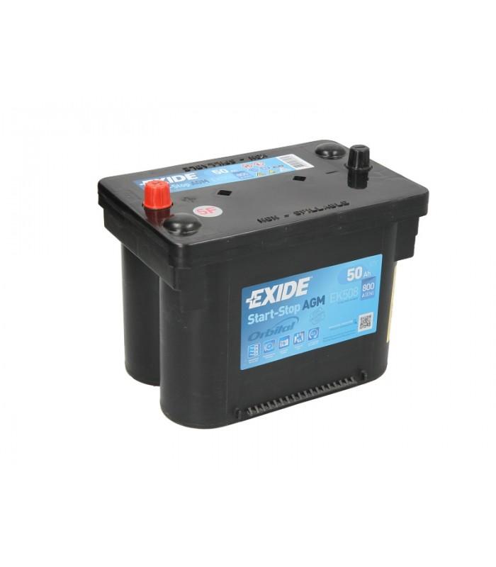 Аккумулятор Exide 50Ah/800A START&STOP AGM EK508