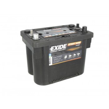 Аккумулятор Exide 50Ah/800A START AGM EM1000