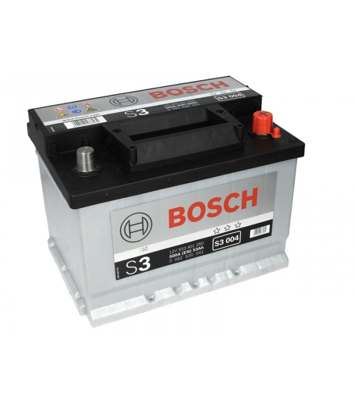 Аккумулятор Bosch 53Ah/500A S3 0 092 S30 041