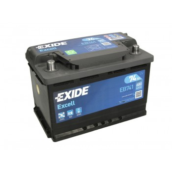 Аккумулятор Exide 74Ah/680A EXCELL EB741