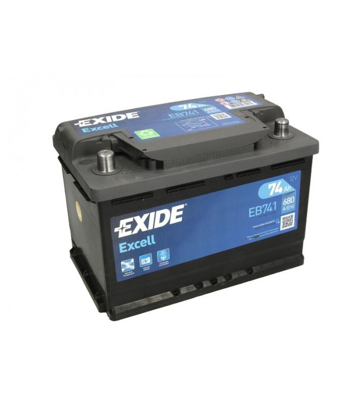 Аккумулятор Exide 74Ah/680A EXCELL EB741