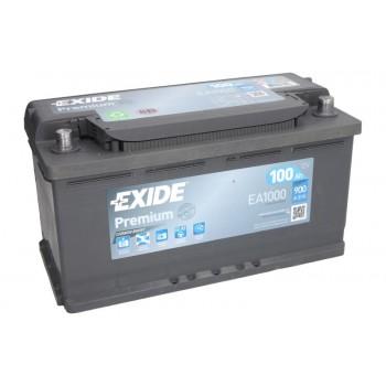 Аккумулятор Exide 100Ah/900A PREMIUM EA1000
