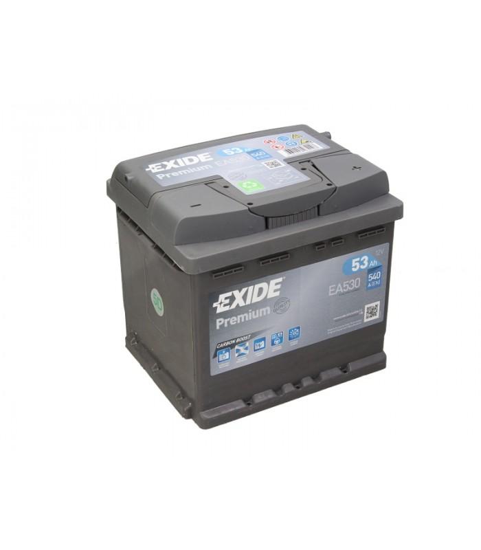 Аккумулятор Exide 53Ah/540A PREMIUM EA530