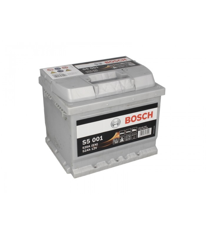 Аккумулятор Bosch 52Ah/520A S5 0 092 S50 010