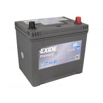 Аккумулятор Exide  65Ah/580A PREMIUM EA654