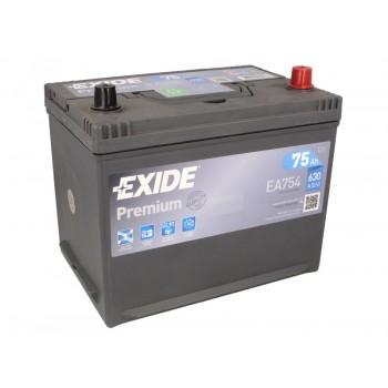 Аккумулятор Exide 75Ah/630A PREMIUM EA754