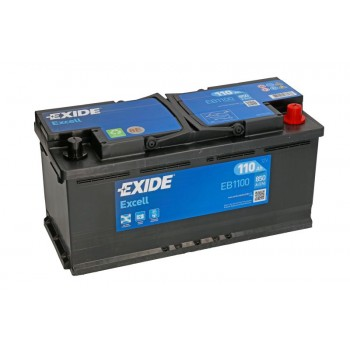 Аккумулятор Exide 110Ah/850A EXCELL EB1100