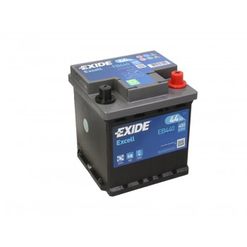 Аккумулятор Exide 44Ah/400A EXCELL EB440