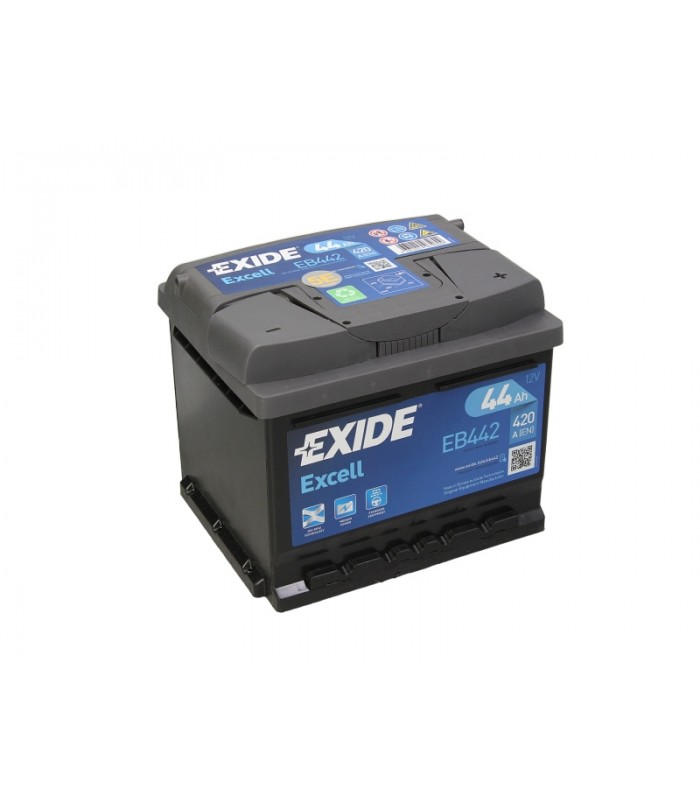 Аккумулятор Exide 44Ah/420A EXCELL EB442