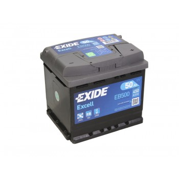 Аккумулятор Exide 50Ah/450A EXCELL EB500