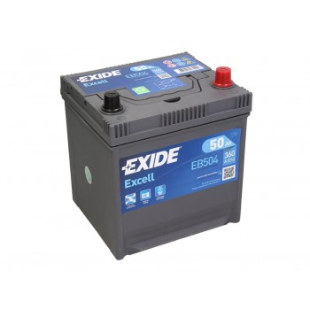 Аккумулятор Exide 50Ah/360A EXCELL EB504