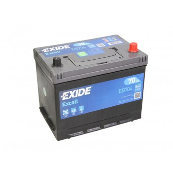 Аккумулятор Exide 70Ah/540A EXCELL EB704