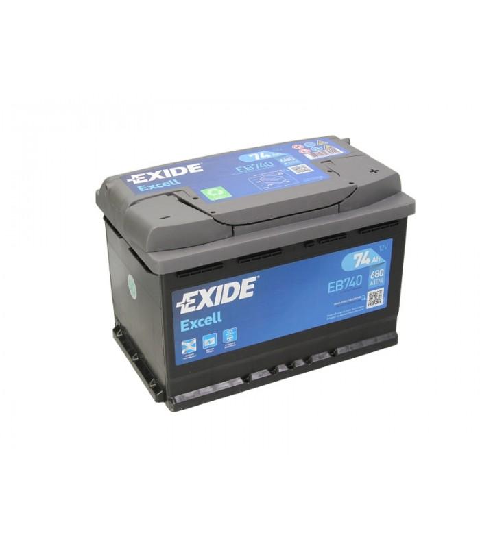 Аккумулятор Exide 74Ah/680A EXCELL EB740