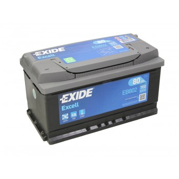 Аккумулятор Exide 80Ah/700A EXCELL EB802