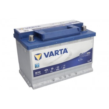 Аккумулятор Varta 70Ah/760A START&STOP EFB VA570500076
