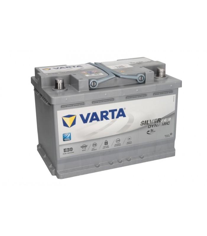 Аккумулятор Varta 70Ah/760A START&STOP AGM VA570901076