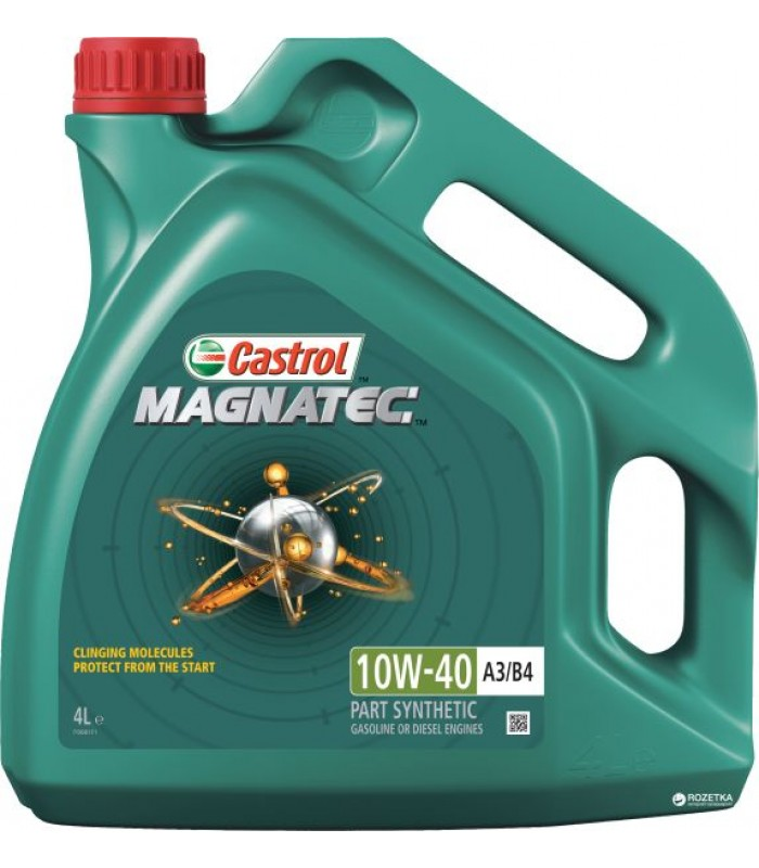Моторное масло Castrol Magnatec 10W-40 A3/B4 4L