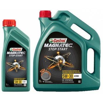 Моторное масло Castrol Magnatec Stop-Start 5W30 A3/B4 4L
