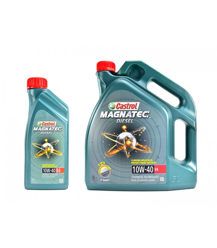 Моторное масло Castrol Magnatec Diesel 10W40 B4 5L