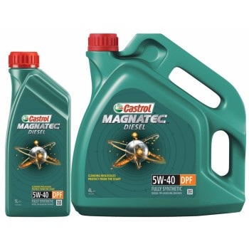 Моторное масло Castrol Magnatec Diesel 5W40 DPF 4L
