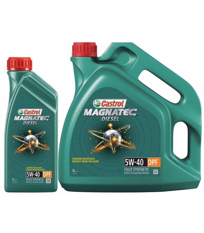 Моторное масло Castrol Magnatec Diesel 5W40 DPF 5L