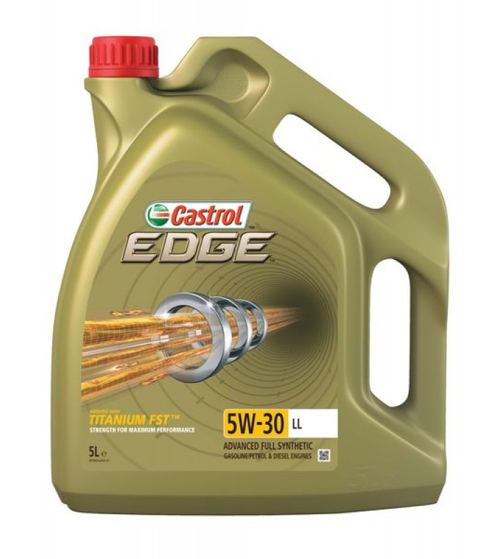 Моторное масло Castrol EDGE Titanium FST 5W30 LL 5L