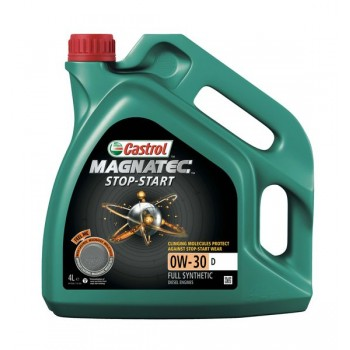 Моторное масло Castrol MAGNATEC STOP-START 0W30 D SS 4L