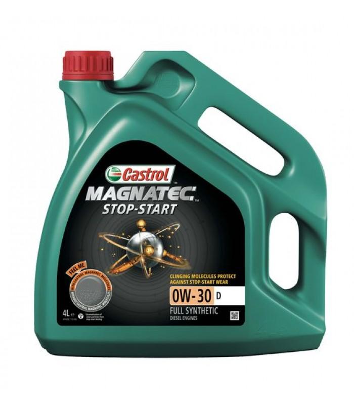 Моторное масло Castrol MAGNATEC STOP-START 0W30 D SS 4L