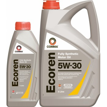 Моторное масло Comma ECOREN 5W30 SYNT. 5L
