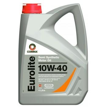 Моторное масло Comma Eurolite 10W-40 4L
