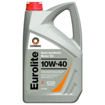 Моторное масло Comma Eurolite 10W-40 5L