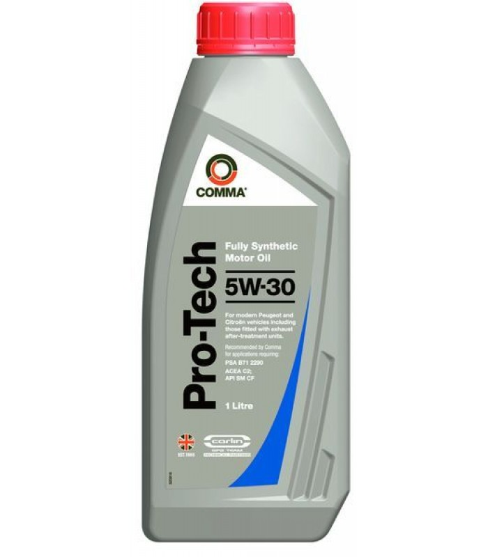 Моторное масло Comma PRO-TECH 5W30 1L