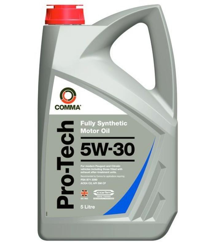 Моторное масло Comma PRO-TECH 5W30 5L
