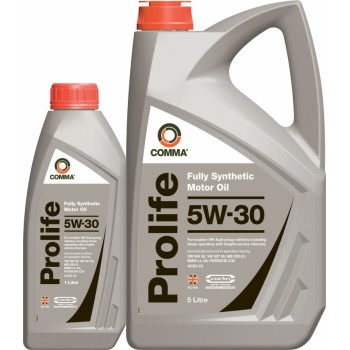Моторное масло Comma PROLIFE 5W30 1L