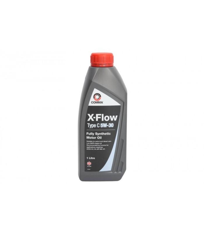 Моторное масло Comma X-FLOW C 5W30 1L