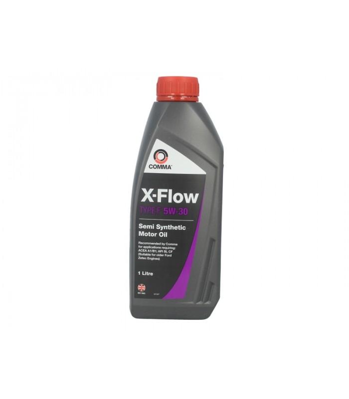 Моторное масло Comma X-FLOW F 5W30 SEMI.1L